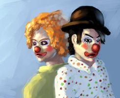 TAC: Clowns by algenpfleger