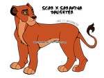 Scar and Sarafina Daughter by Oliver20