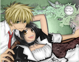 Kaichou-wa Maid-sama : Chapter 21 :color: by TheNayaki