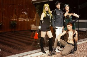 Black Moon Clan Cosplay - AnimeNEXT 2012 by KrisRix