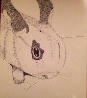 Sophia stippling by FluffPaws