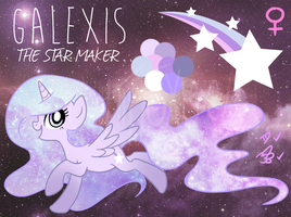 Galexis Reference by WhatTheFoxBecca