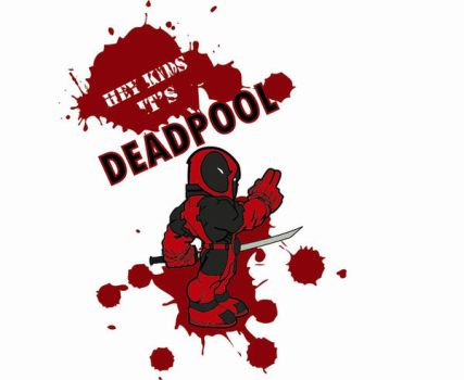 Unfinished Deadpool vector by absolute-beginner