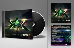 K-lix cd cover art by kampollo