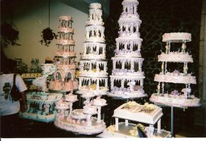 Wedding Cakes by whitneyleanne