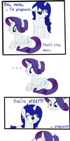 Comic: Time to Tell Rarity by iPandacakes