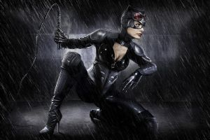 Anne Hathaway as Catwoman by DrewGardner