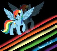 Rainbowdash by blueberry-tail