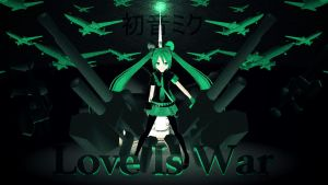 Love Is War - Hatsune Miku by Emosoftwere
