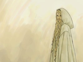 Galadriel Wallpaper by verucasalt82