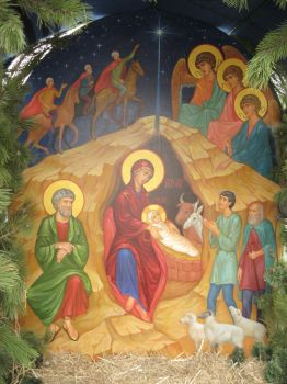 The Nativity of Christ. by yellika