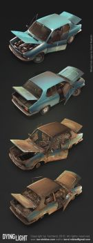 Dying Light Car by KMiklas