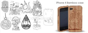 Sugoi Case Designs by turp