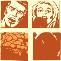 Fantastic Four pop art is back by DevintheCool