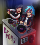Vinyl/Octavia: Scratching Vinyl by Sound-Resonance