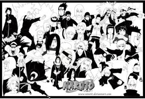 Naruto shippuden killer fresco by Nim41