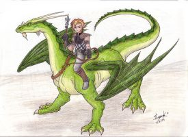 Dragon for: Jordan_c75 by Dragonic-Saga