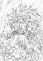 GOKU Super Saiyan 3 by warpath28