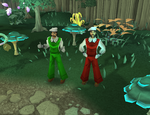 Fire Mario and Fire Luigi (Cosplay) -Runescape- by GandalfrRune