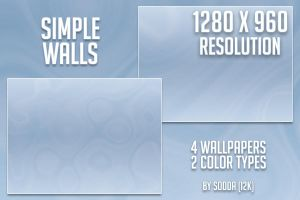 SIMPLE WALLS 1280 X 960 by I2K