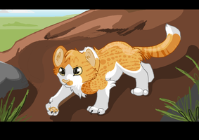 Sunpaw | TWG Assignment | FireClan by rainwolfeh