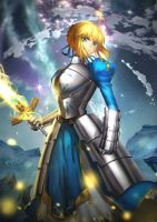 saber by ZhangDing