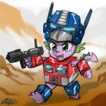 Optimus Spike by johnjoseco