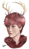 Deer by DaebakShiro