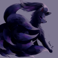 Black Ninetales by Effier-sxy