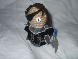 Chibi Crocheted Haar by kilted-katana