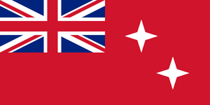 Flag of the British Dominion of Andaman-Nicobar by kyuzoaoi