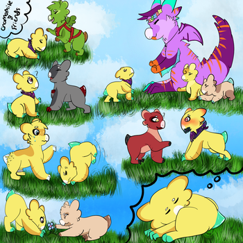 Chamomile and Friends! by CosmicBreath