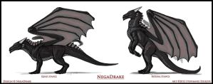 NegaDrake Reference by LeccathuFurvicael