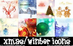 Icons - Christmas-Winter by lilbrokenangel