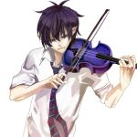 Blue Violin by hunberryGuruma