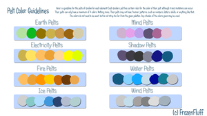 BN | Pelt Color Guidelines by IceBIue