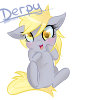 Chibi Derpy Hooves by ChiakiTasso