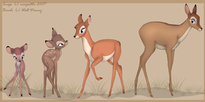 From fawn to doe by MilGoncalez