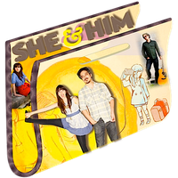 She and Him Music Folder by CBDave