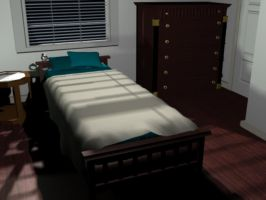 3D Version of my room by H-ARTAttack