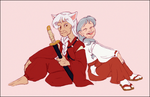 Old Married Couple by NattiKay