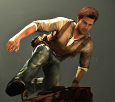 Uncharted 2: Nathan Drake by Kajual