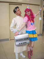 Pinkie Pie and Dr. Horrible by Yunsildin