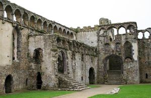 Bishops Palace, St Davids, Pembrokeshire 7 by OghamMoon