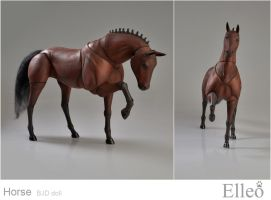 Horse bjd doll 14 by leo3dmodels