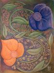Flower Yin Yang by The-Tinidril