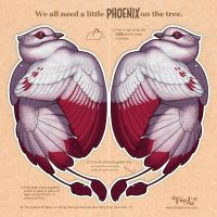 Phoenix for your Tree by mirroreyesserval