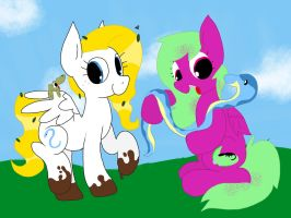 Pony Reptile Playdate by kalie0216