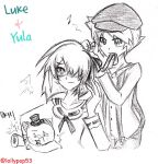 Luke and Yula by LollyPop53