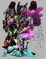 Beast Wars BA - Full Color by Altitron
